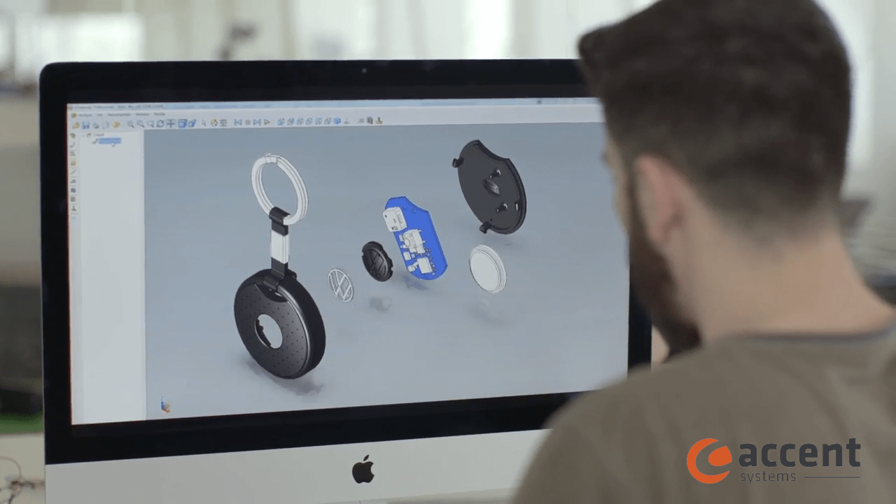 Volkwagen Connect - Intelligent key fob developed by Accent Systems