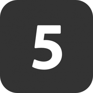 numbers-5-filled-icon