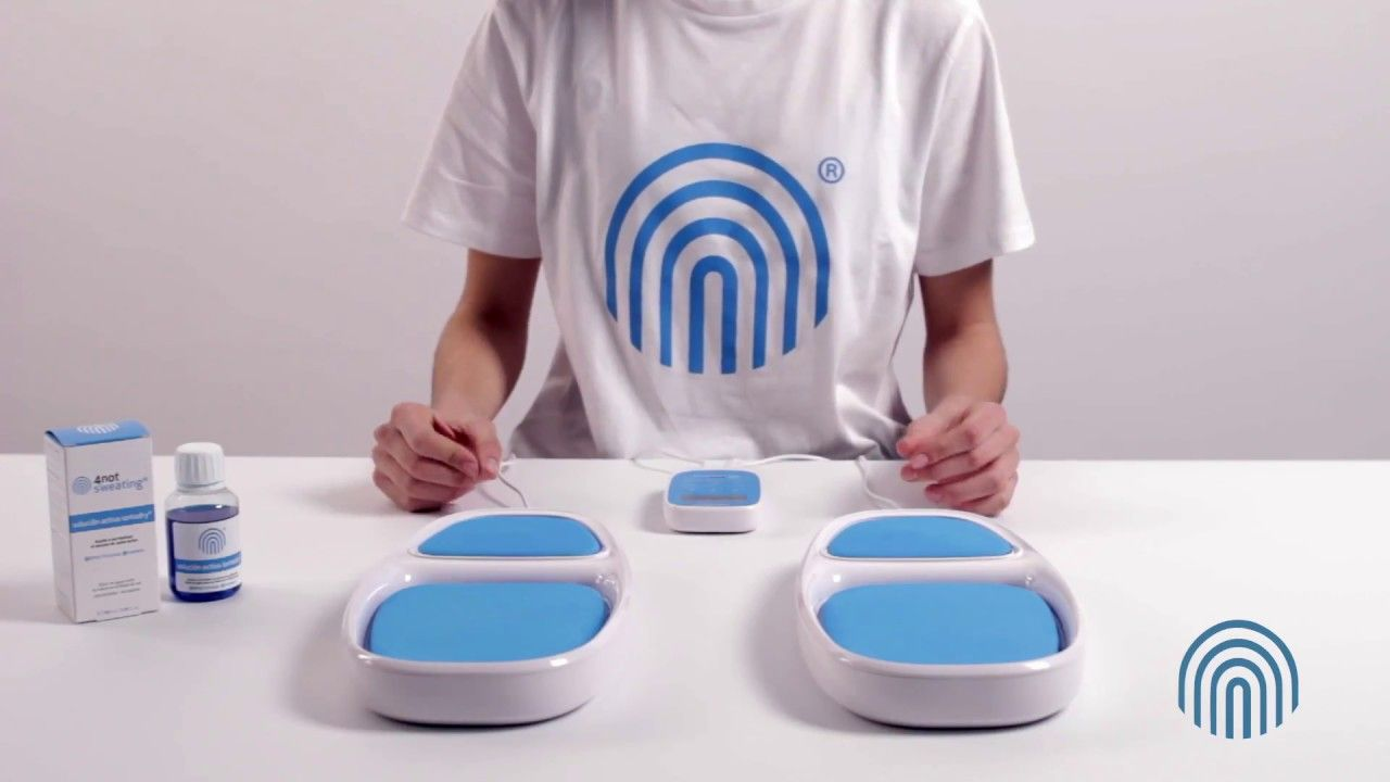 Iontodry iot solution healthcare sweating accent systems martiderm